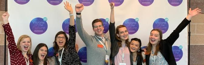 students at NAPDS conference 2020