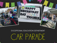 EXE car parade flyer