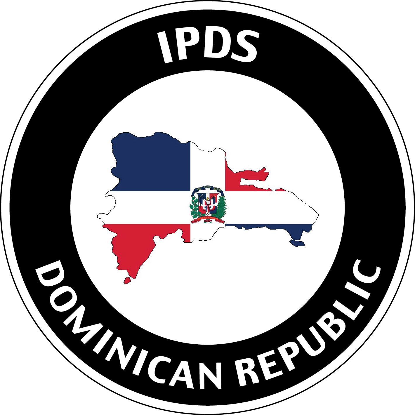 IPDS Dominican Republic icon with country and flag