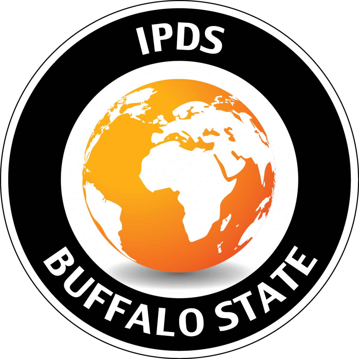 IPDS Buffalo State icon with globe