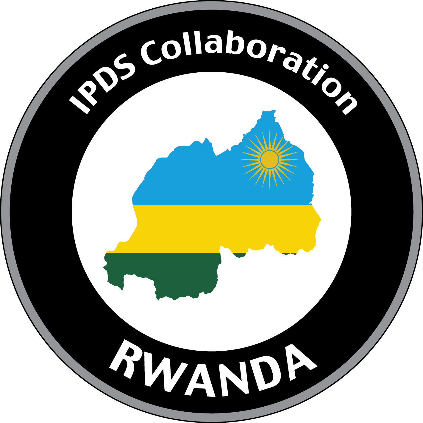 IPDS Collaboration Rwanda icon with country and flag